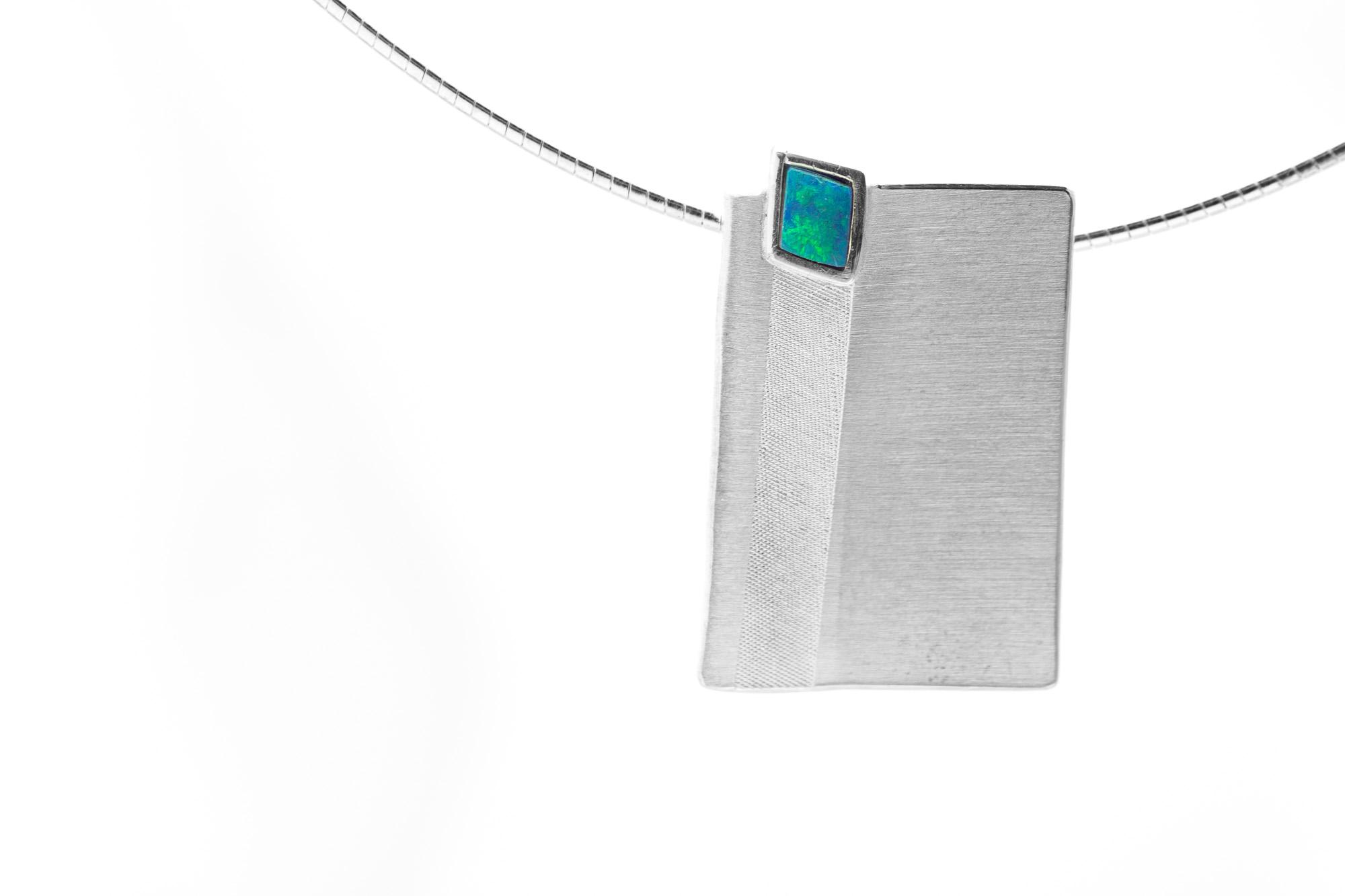 Anhänger, Silber, Opal 298€