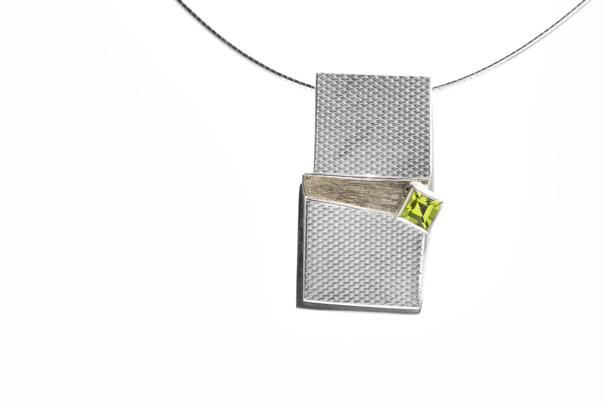 Anhänger, Silber, Peridot 378€