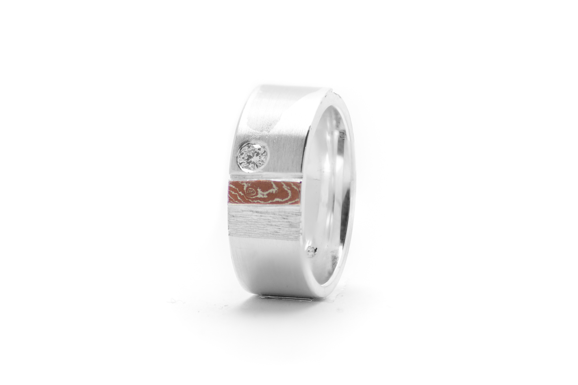 Ring, Palladium, Silber, Brillant 545€