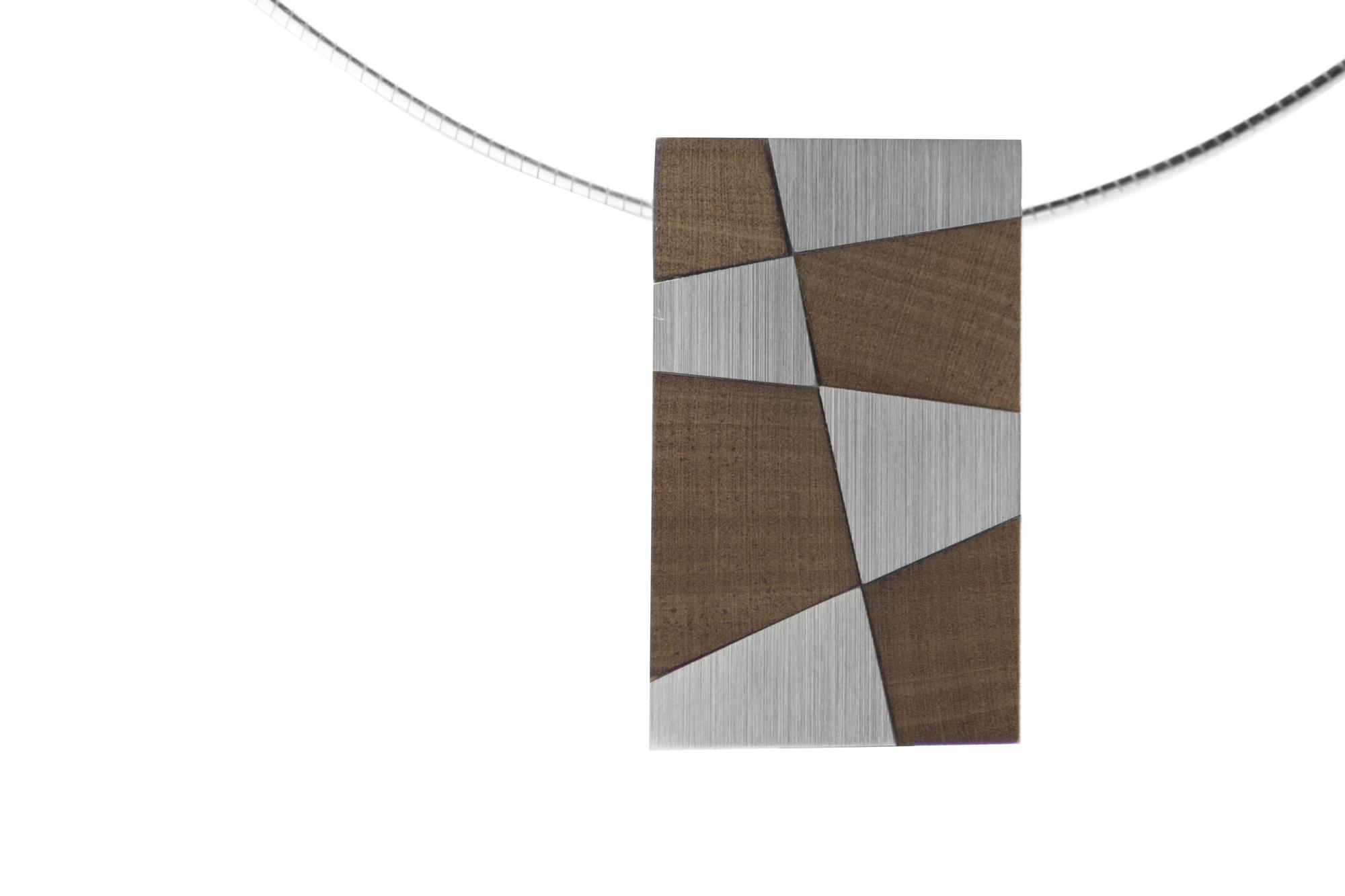 Anhänger, Silber, Holz 490€