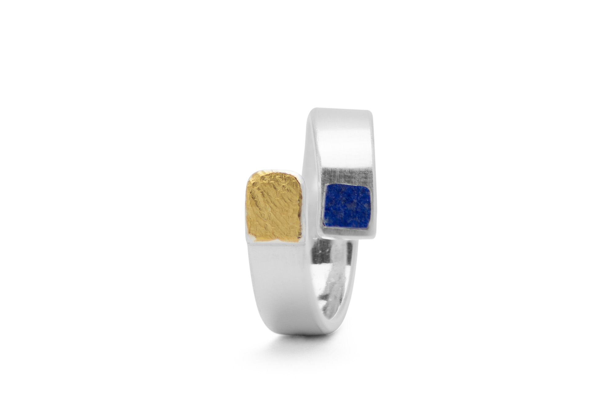Ring, Silber, Feingold, Lapis 228€